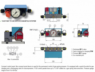 PANEL DE CONTROL COMPACTO P120