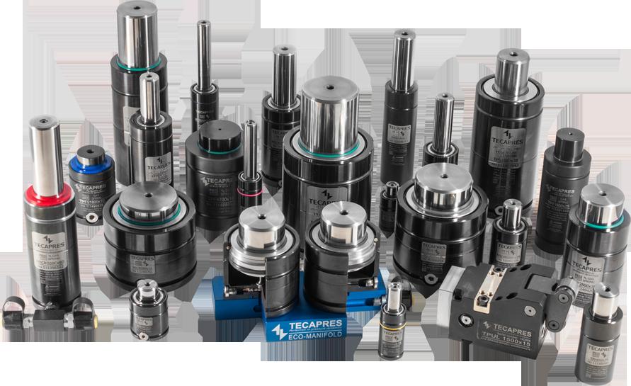 Cilindros compactos y potenciados, según normas VDI.